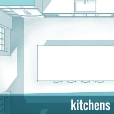 Room Type Button - Kitchens