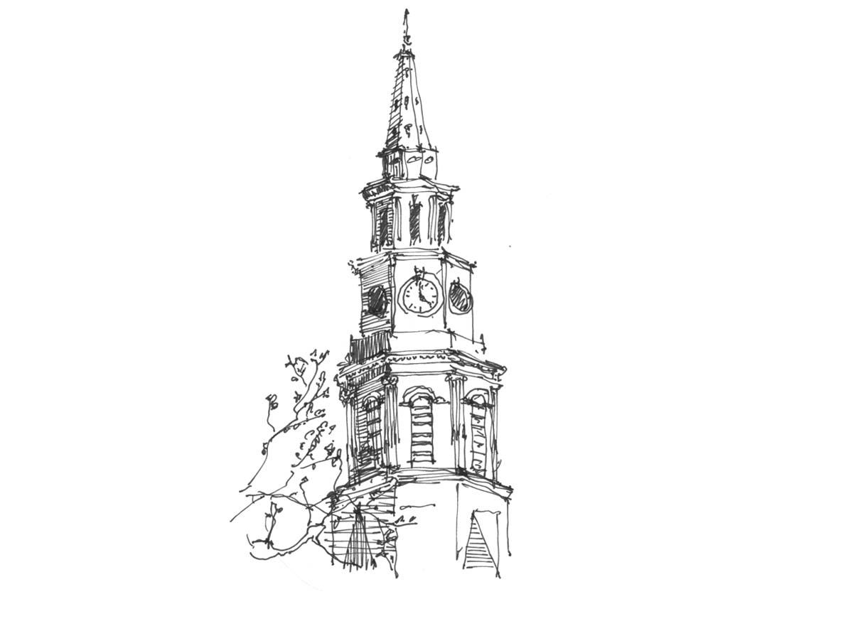 St. Philips Church  -  Charleston, South Carolina