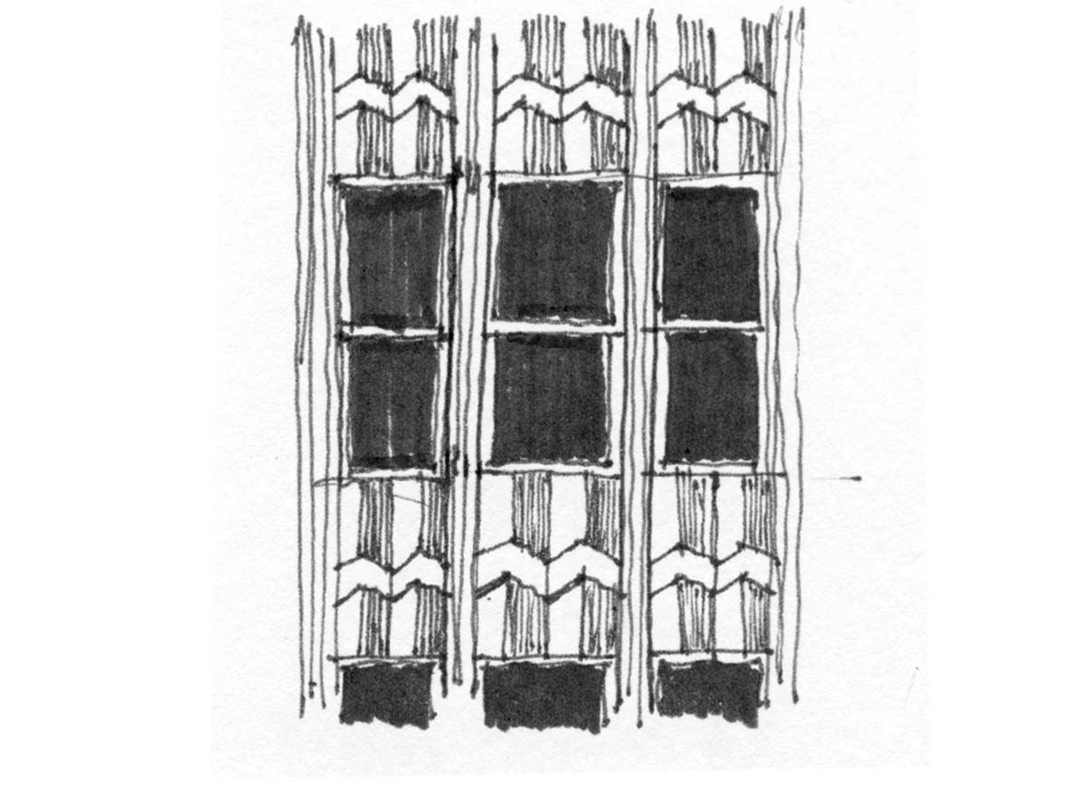 facade detail  -  Knoxville, Tennessee