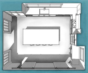 Kitchen Plan 01 rendered small