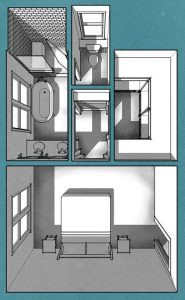 Master Suite FloorPlan 01 rendered small