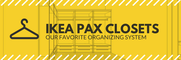 Ikea PAX Closet Organizers