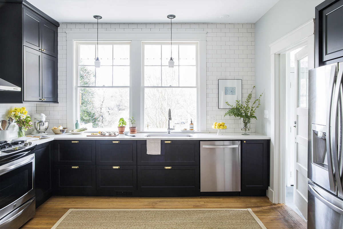 Ikea kitchen trash pull-out cabinet under sink